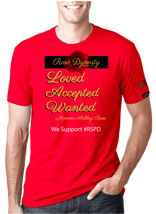 Rose Dynasty - RED SHIRT PRIDE DAY