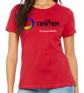 The Center - RED SHIRT PRIDE DAY
