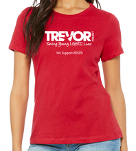 Load image into Gallery viewer, Trevor Project - RED SHIRT PRIDE DAY