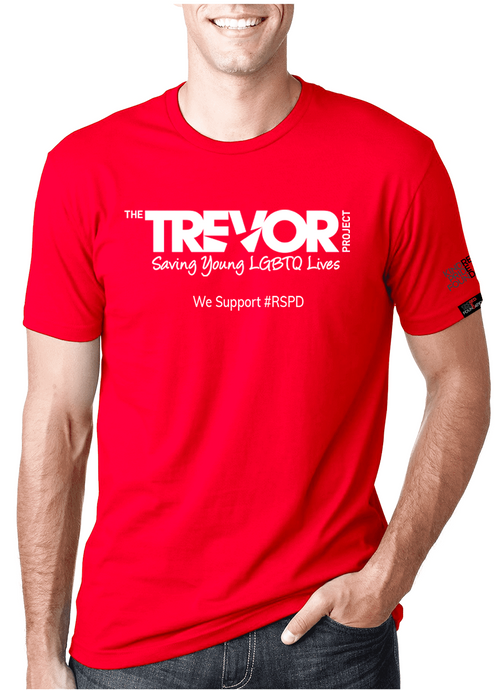 Trevor Project - RED SHIRT PRIDE DAY