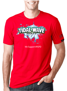Tidal Wave - RED SHIRT PRIDE DAY
