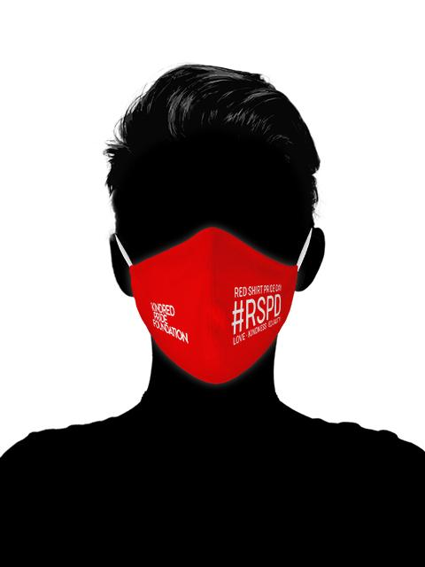 RED SHIRT PRIDE DAY - V1 MASK