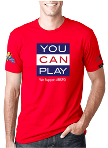 You Can Play - RED SHIRT PRIDE DAY