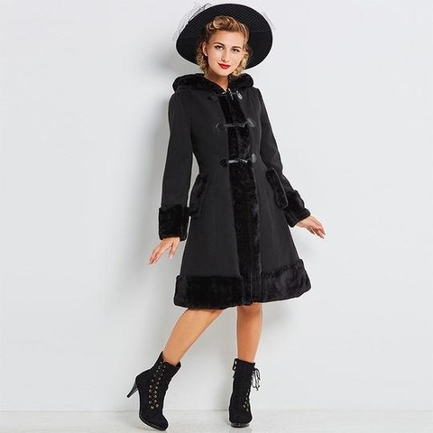 Gothic Frozen Night Coat