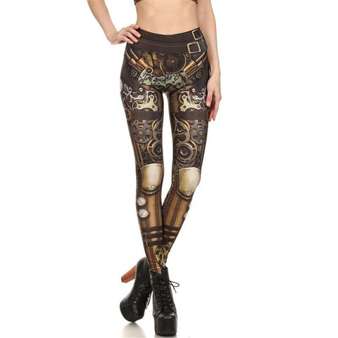 Steampunk Mechanical Leggings