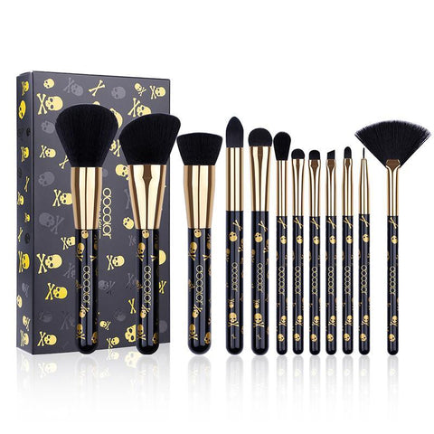 Gothic Makeup Brushes 12PCS
