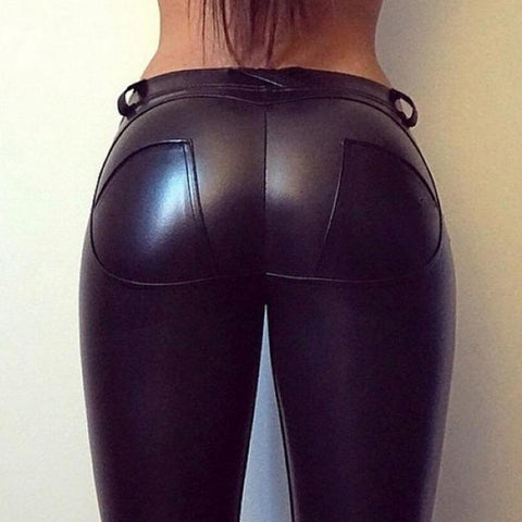 Sexy Hip Push Up Pants Gothic Leggins