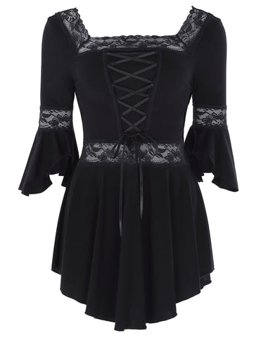 Gothic Victorian Steampunk Blouse
