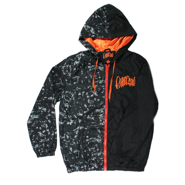 Forged Carbon Two Face Windbreaker - Paint is Dead Merchandise
