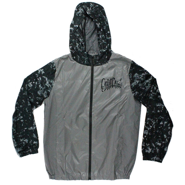 Forged Carbon Reflective Windbreaker - Paint is Dead Merchandise