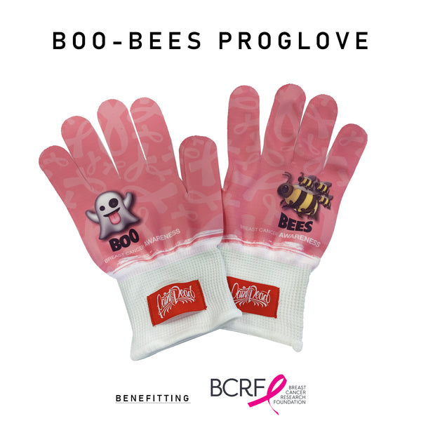 """BOO-BEES"" PROGLOVES for Breast Cancer Research Foundation - Paint is Dead Merchandise"