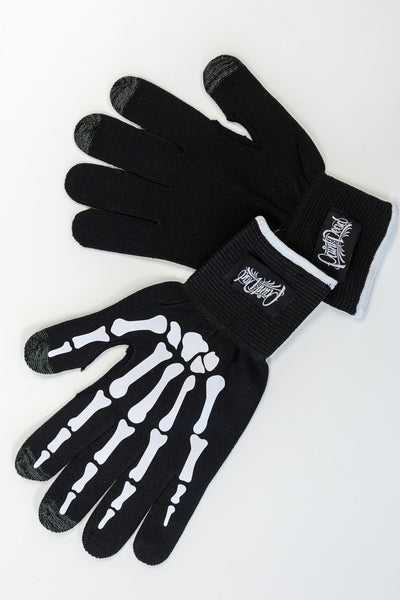 PROGLOVE Skeleton Wrap Gloves - Paint is Dead Merchandise