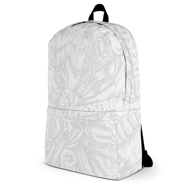 Wrap Tools PROSERIES White Backpack - Paint is Dead Merchandise