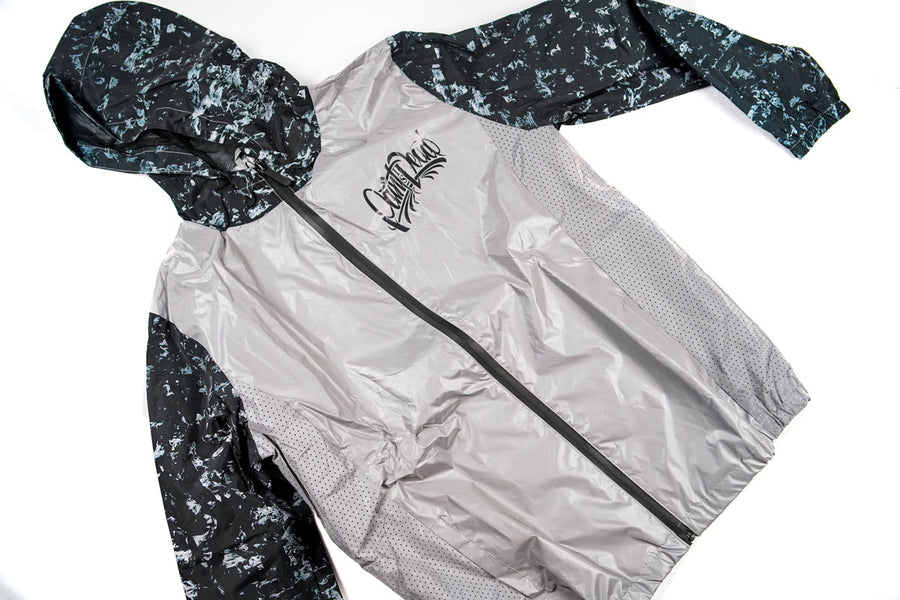 Paint is Dead Forged Carbon Reflective Windbreaker - Paint is Dead Merchandise
