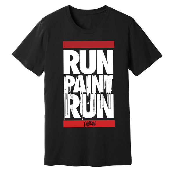 """Run Paint Run"" T-Shirt - pidmerch"