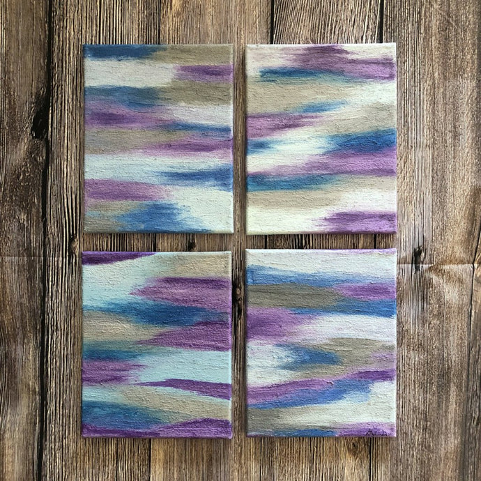 Lilac Haze set of 4 | 8x10