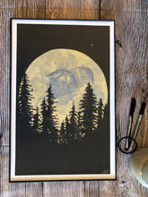 Load image into Gallery viewer, Blue Moon Print | 5x7, 8x10, & 11x17