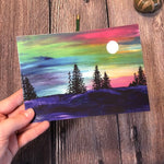 5x7 & 8x10 | Forest at Night Print