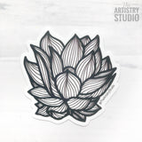 Lotus Sticker | 2.89x3