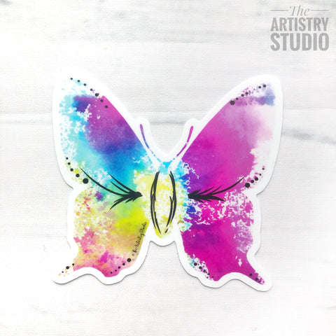 Butterfly Sticker | 3 x 2.84""
