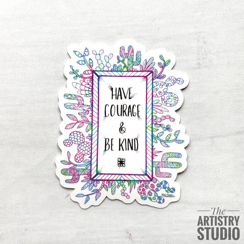 Be Kind Sticker | 2.5x3.2