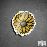 Sunflower Sticker | 2.7x3