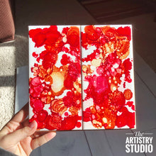 Load image into Gallery viewer, Alcohol Ink Hot Pad | Ceramic
