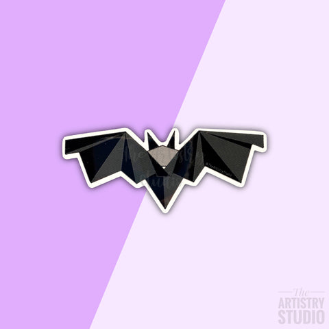 Black Bat Sticker | 3x1.3