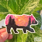 Bear Sticker | 3 x 1.9""