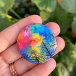 Fairytale Forest Button | 1.5x1.5