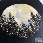 Yellow Moon | 10x10