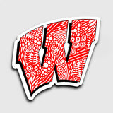 Wisconsin Sticker | 2.8x2.7