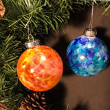 "Custom 2.5"" Glass Bulb Ornaments"