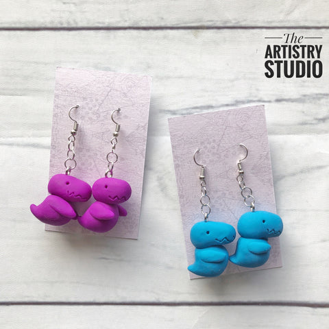 Dino Earrings | Made to Order