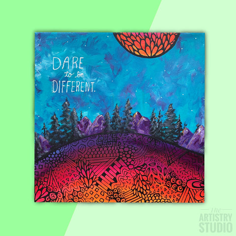 Dare to be Different | 12x12