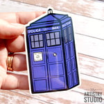 Police Box Sticker | 2x3.4