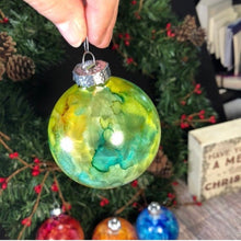 "Load image into Gallery viewer, Custom 2.5"" Glass Bulb Ornaments"