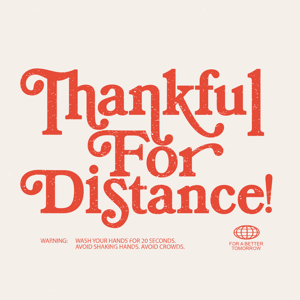 Thankful for Distance Tee