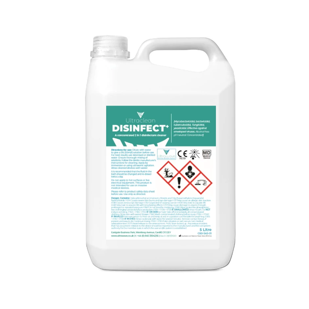 Ultraclean Disinfect+ Product Image