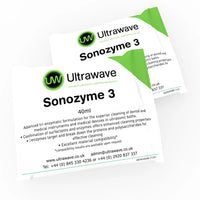 Sonozyme 3 (120 Sachets) - advanced tri-enzymatic detergent for cleaning and pre-disinfection of surgical instruments