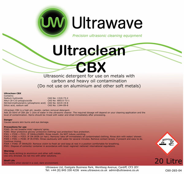 Ultraclean CBX Drum - 20 Litres