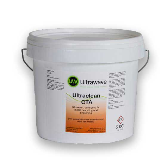 Ultraclean CTA - acidic detergent for use in metal degreasing descaling and brightening