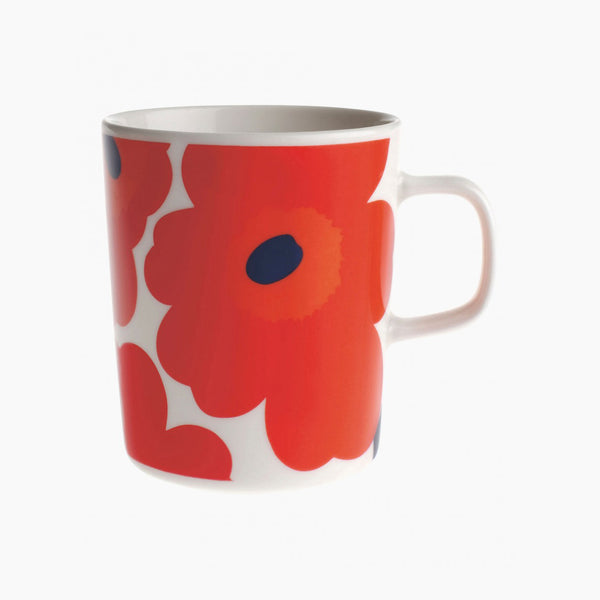 Unikko Mug - Red/White