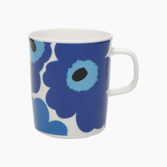 Unikko Mug - Blue/White