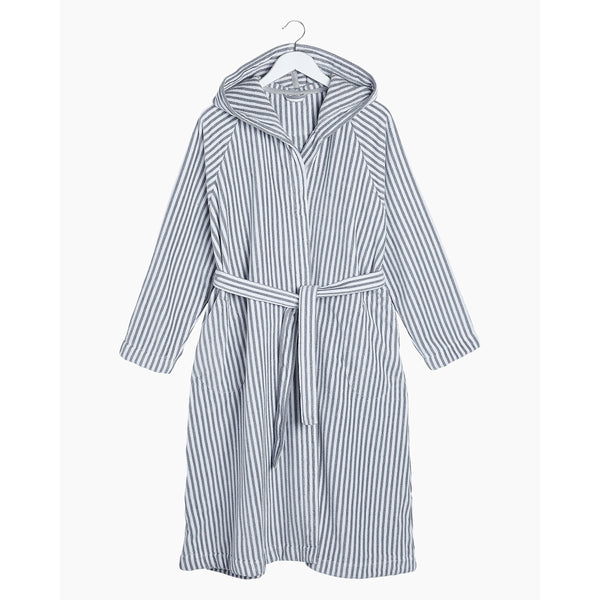 Siro Mari Bathrobe Grey/White