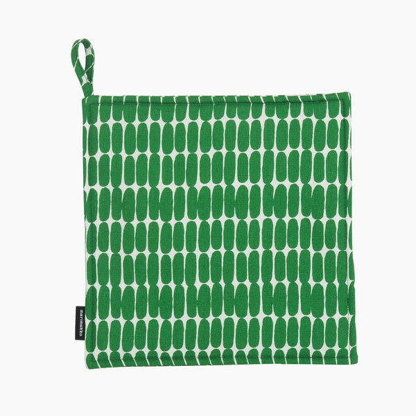 Alku Pot Holder White/Green