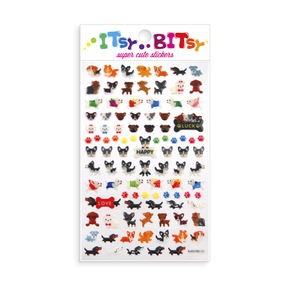 Itsy Bitsy Stickers - Pooches