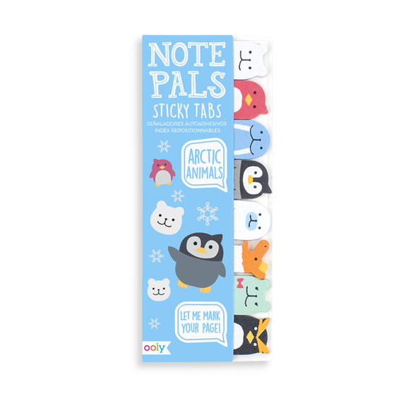 Note Pals Sticky Tabs - Arctic Animals