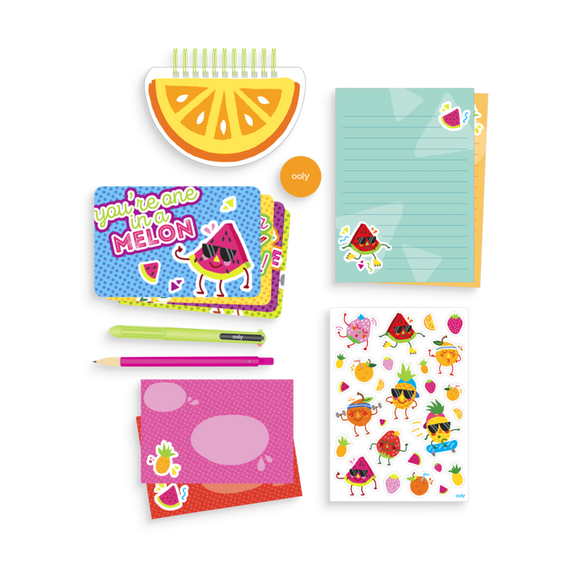 Fresh Fruits Stationary Kit