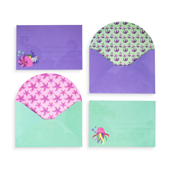 Magical Mermaids Stationary Kit